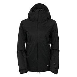 686 GLCR Aura Womens Insulated Snowboard Jacket, Black Diamond Dobby, 256