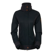 686 Parklan Easy Rider Womens Jacket, Black Herringbone, medium