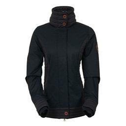 686 Parklan Easy Rider Womens Jacket, Black Herringbone, 256