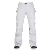 686 GLCR Geode Thermagraph Womens Snowboard Pants, Light Grey Diamond Dobby, medium