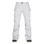 686 GLCR Geode Thermagraph Womens Snowboard Pants, Light Grey Diamond Dobby, medium