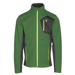 Spyder Bandit Full Zip Mens Jacket, Blade-Polar-Bryte Yellow, 256