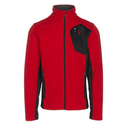 Spyder Bandit Full Zip Mens Jacket, Red-Black, 256