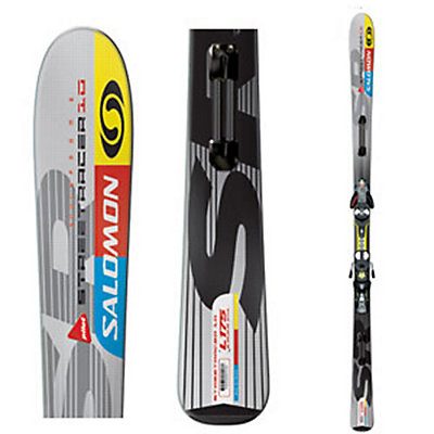 Salomon Streetracer 10 Pilot Skis with S912 Pilot Bindings, , large
