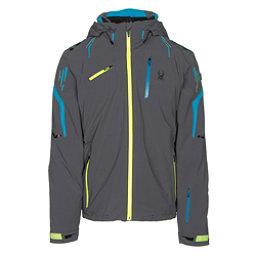 Spyder Monterosa Mens Insulated Ski Jacket, Polar-Electric Blue-Bryte Yellow, 256