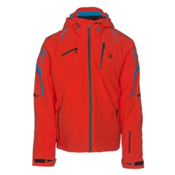 Spyder Monterosa Mens Insulated Ski Jacket, Rage-Electric Blue-Black, medium