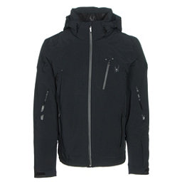 Spyder Bromont Mens Insulated Ski Jacket, Black-Black-Black, 256