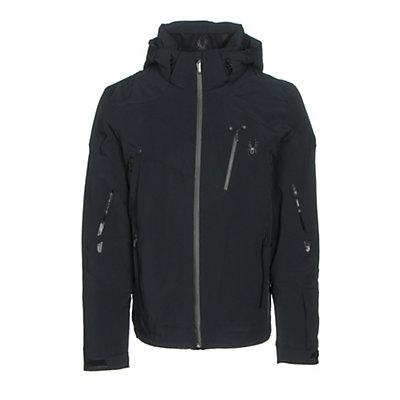 Spyder Bromont Mens Insulated Ski Jacket, Black-Black-Black, viewer