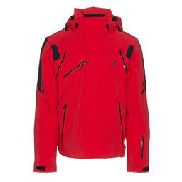 Spyder Garmisch Mens Insulated Ski Jacket, Red-Black-Black, 256