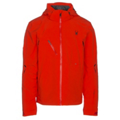 Spyder Alyeska Mens Insulated Ski Jacket, Rage-Red, medium