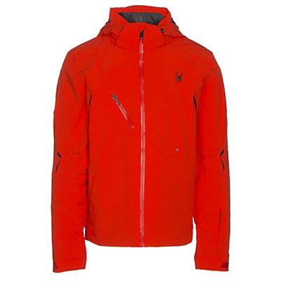 Spyder Alyeska Mens Insulated Ski Jacket, Red-Electric Blue, viewer