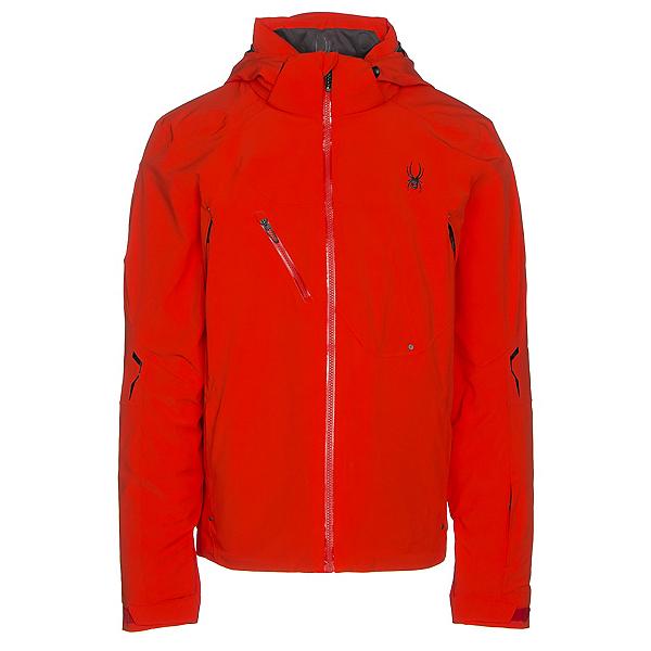 Spyder Alyeska Mens Insulated Ski Jacket, Rage-Red, 600
