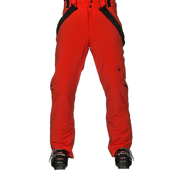 Spyder Bormio Mens Ski Pants, Rage, 600
