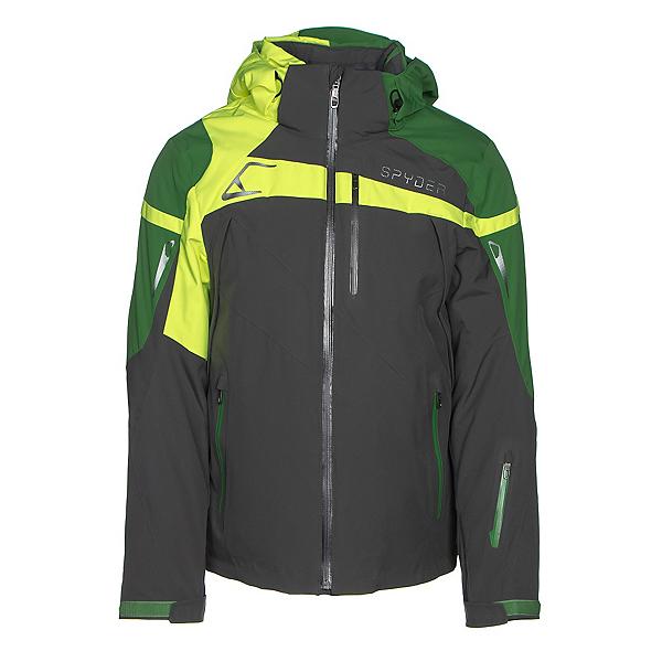Spyder Titan Mens Insulated Ski Jacket, Polar-Blade-Bryte Yellow, 600
