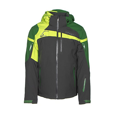 Spyder Titan Mens Insulated Ski Jacket, Polar-Blade-Bryte Yellow, viewer