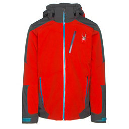 Spyder Chambers Mens Insulated Ski Jacket, Rage-Polar-Electric Blue, 256
