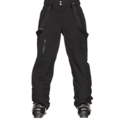 Spyder Dare Athletic Mens Ski Pants, Black, medium