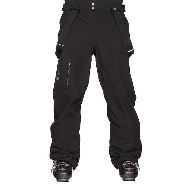 Spyder Dare Athletic Short Mens Ski Pants, Black, 600