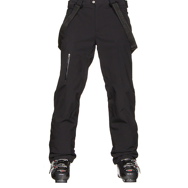 Spyder Dare Tailored Mens Ski Pants, Black, 600