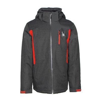 Spyder Cannon Mens Insulated Ski Jacket, Polar Crosshatch-Polar-Rage, viewer