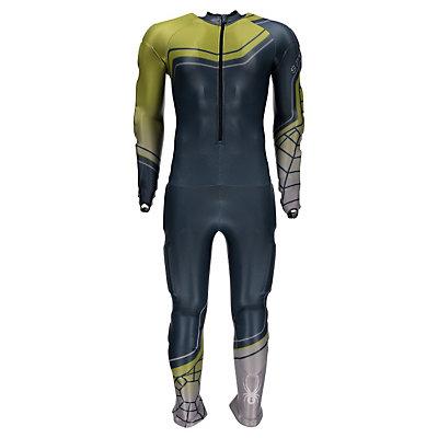 Spyder Mens Performance GS Race Suit, Union Blue-Sulfur-Cirrus, viewer