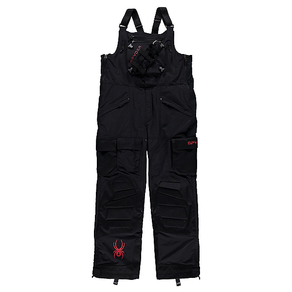 Spyder Coach's Bib Pants, Black, 600