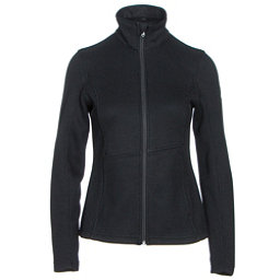 Spyder Endure Full Zip Mid Weight Womens Sweater, Black, 256