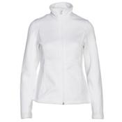 Spyder Endure Full Zip Mid Weight Womens Sweater, White, medium