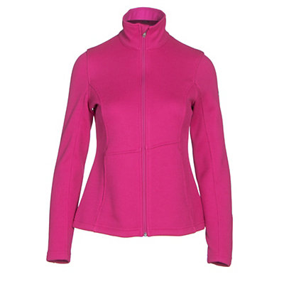 Spyder Endure Full Zip Mid Weight Womens Sweater, White, viewer