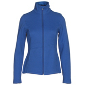 Spyder Endure Full Zip Mid Weight Womens Sweater, Bling, medium