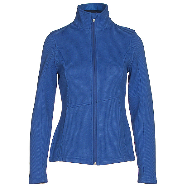 Spyder Endure Full Zip Mid Weight Womens Sweater, Bling, 600