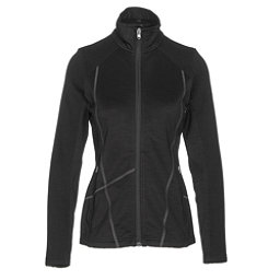 Spyder Bandita Mid Weight Womens Sweater, Black-Weld, 256