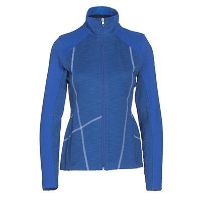Spyder Bandita Mid Weight Womens Sweater, Black-Weld, viewer