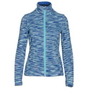 Spyder Endure Space Dye Full Zip Womens Sweater, Bling-White-Freeze, medium