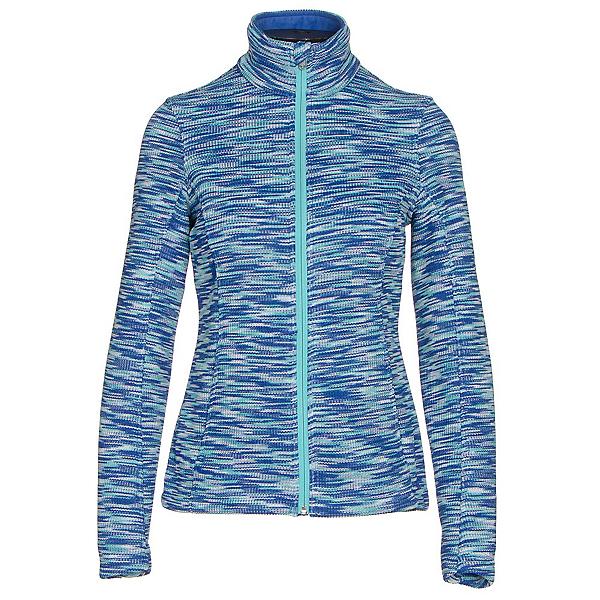 Spyder Endure Space Dye Full Zip Womens Sweater (Previous Season), Bling-White-Freeze, 600