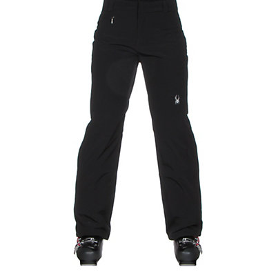 Spyder Winner Athletic Fit Womens Ski Pants, Black, viewer