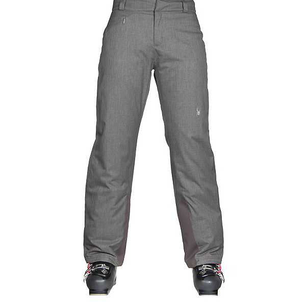 Spyder Winner Athletic Fit Womens Ski Pants (Previous Season), Weld Crosshatch, 600