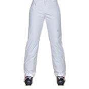 Spyder Winner Athletic Fit Womens Ski Pants, White, medium