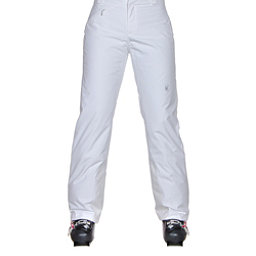 Spyder Winner Athletic Fit Womens Ski Pants, White, 256