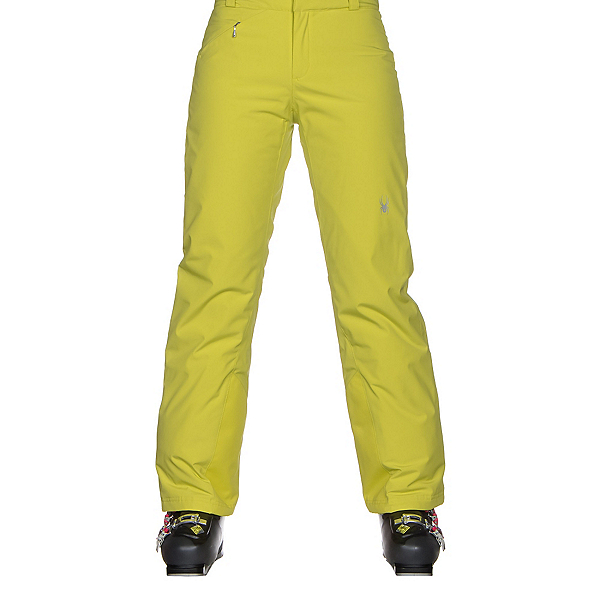 Spyder Winner Athletic Fit Womens Ski Pants, Acid, 600