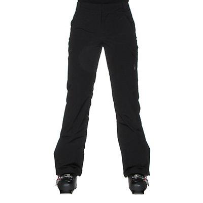 Spyder Me Tailored Fit Womens Ski Pants, Black, viewer