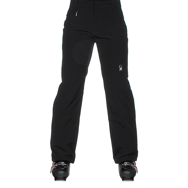 Spyder Winner Athletic Long Womens Ski Pants, Black, 600
