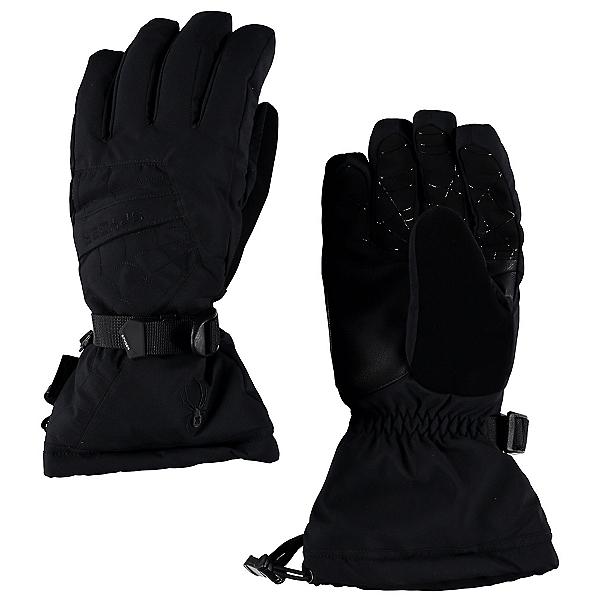 Spyder Overweb Gore-Tex Gloves, Black-Black, 600