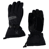 Spyder Overweb Gore-Tex Gloves, Black-Polar, medium
