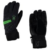 Spyder Underweb Gore-Tex Gloves, Black-Blade, medium