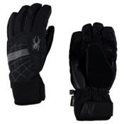 Spyder Underweb Gore-Tex Gloves, Black-Polar, medium