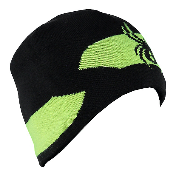 Spyder Shelby Hat, Black-Bryte Yellow, 600