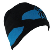 Spyder Shelby Hat, Black-Electric Blue, medium