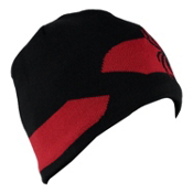 Spyder Shelby Hat, Black-Red, medium