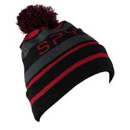 Spyder Icebox Hat (Previous Season), Black-Red-Polar, 256